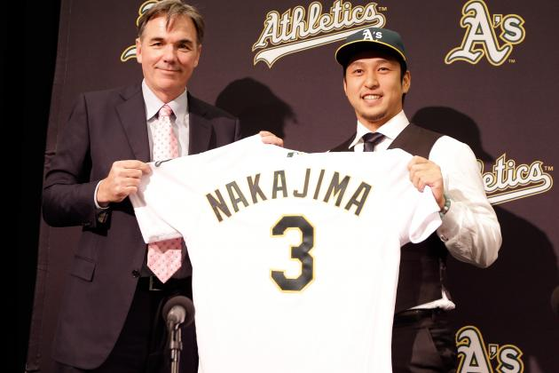 How Will Hiroyuki Nakajima's Game, Skills Translate from Japan to MLB?