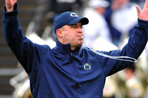 Penn State HC Bill O'Brien Wins 2012 Maxwell Coach of the Year Award