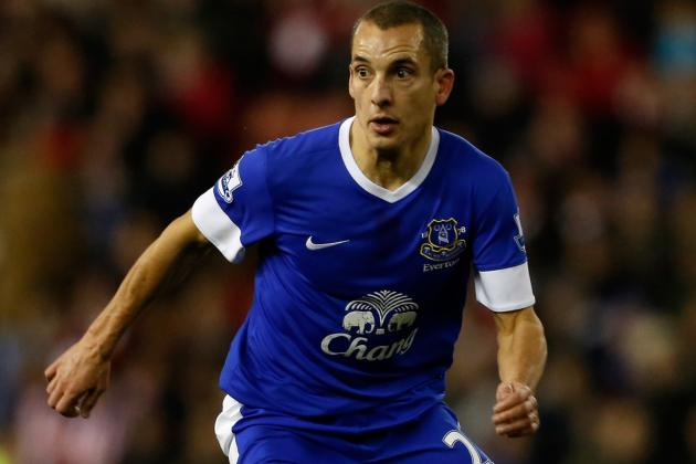 Man of Month Leon Osman Rues Everton FC Results