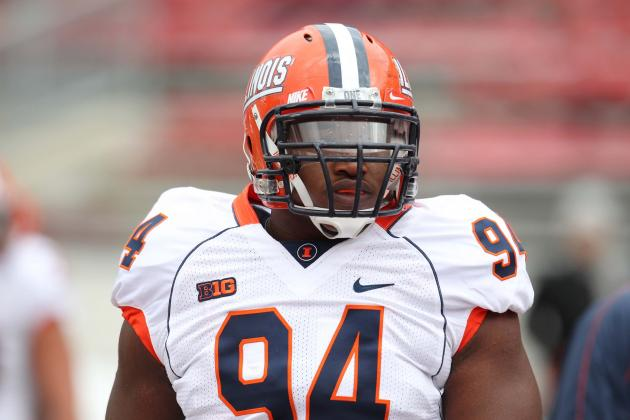 Report: Illinois' Akeem Spence to Enter NFL Draft