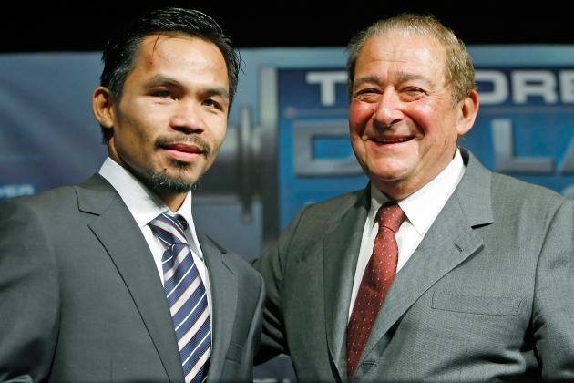 UFC President Dana White Bashes Bob Arum for Booking Pacquiao vs. Marquez 4