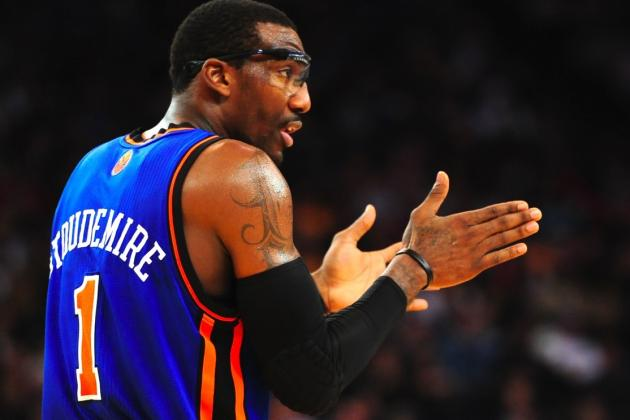 Amar'e Stoudemire Open to Coming off Knicks' Bench to Help New York Win