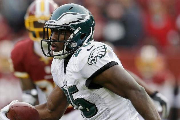 LeSean McCoy to Start Sunday vs. Redskins