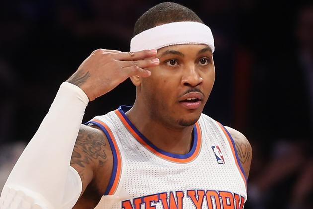 Melo Still Gametime Decision; Amar'e to Practice AgainThursday
