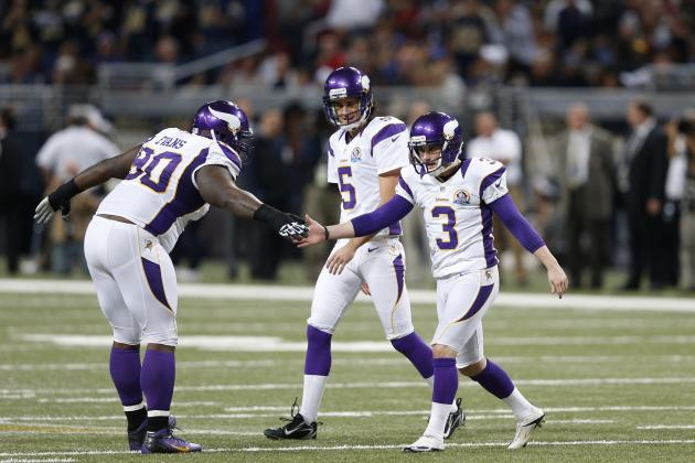 Vikings' K Walsh Wins NFC Special Teams Player of the Week