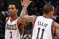 Brandon Jennings, Monta Ellis Succeeding for Milwaukee Bucks
