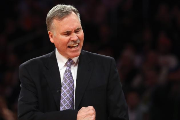 D'Antoni still expirimenting with rotation