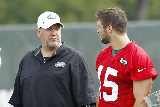 Rex Ryan on Tim Tebow's Future: 'We'll See What Happens'