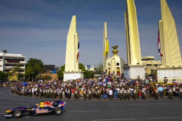 Bernie Ecclestone Targets Bangkok Night Race by 2015