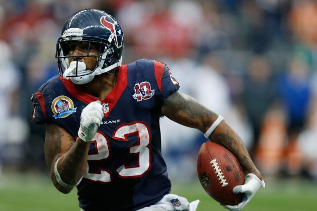 Texans' Foster Nominated for Weekly Award