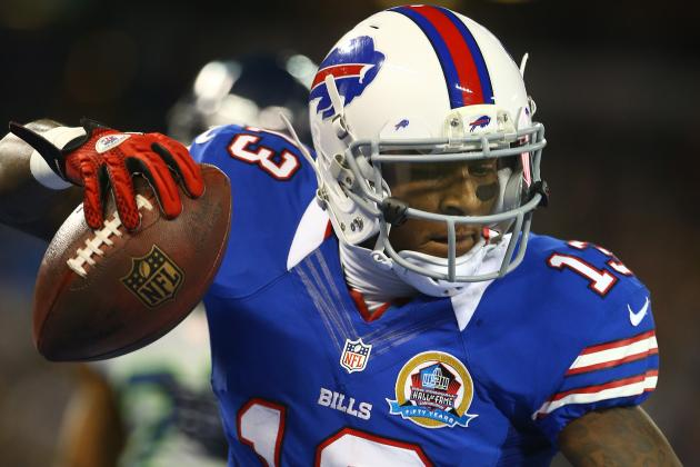 Stevie Johnson Closing in on 1K