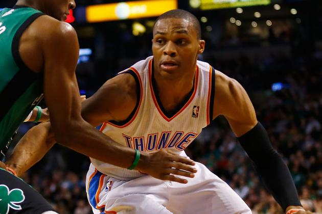 Russell Westbrook Will Play with Sore Wrist