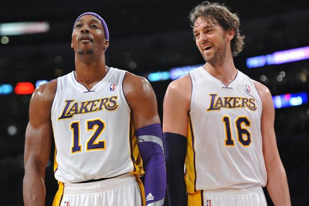 Breaking Up Dwight Howard-Pau Gasol Pairing Key to LA Lakers Success