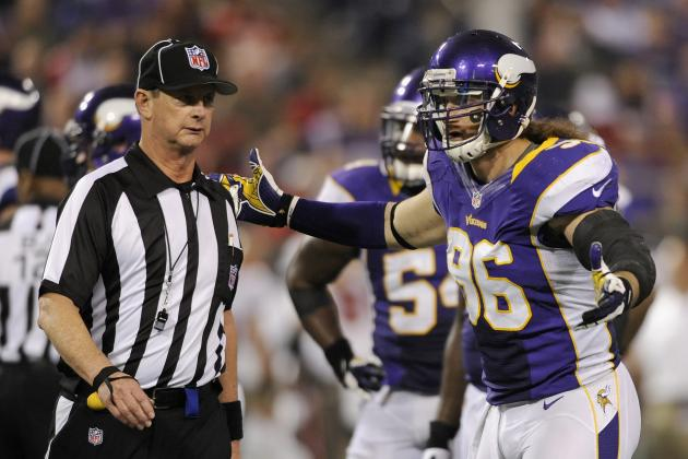 Vikings' Brian Robison Has Grade 3 Shoulder Sprain, Remains Day to Day