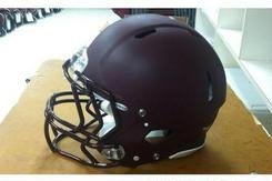 Virginia Tech Going with All-Maroon Matte Helmets for Its Bowl Game