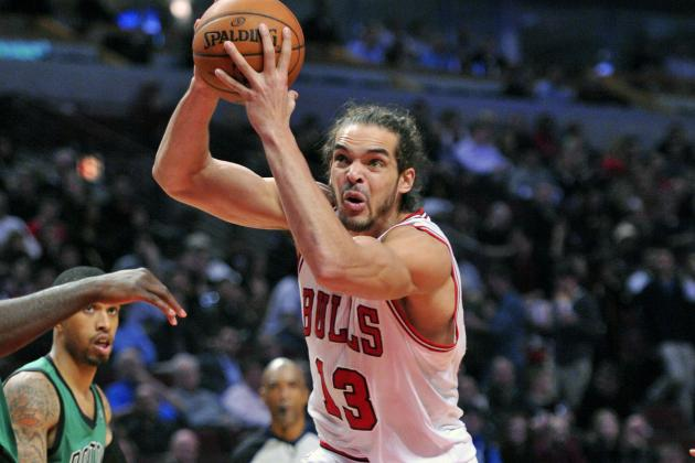 Bulls' Joakim Noah Holsters 'Guns' Out of Respect for Shooting Victims