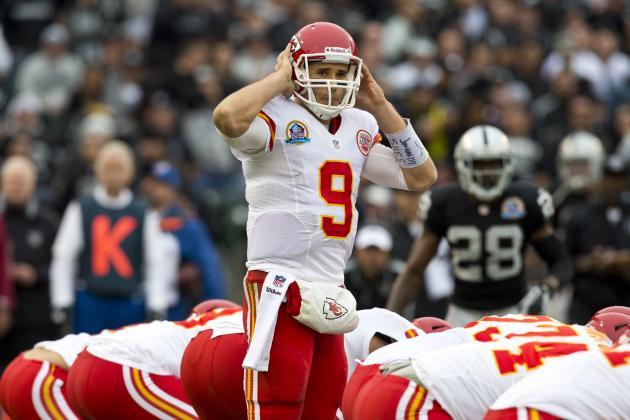 Chiefs' Quinn Healthy Enough to Start Against Colts