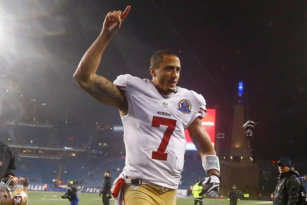 Kaepernick Wins NFC Offensive Player of the Week