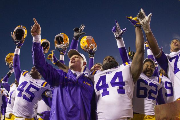 Lucky Les Miles Might Be the Mad Hatter but He Belongs at LSU