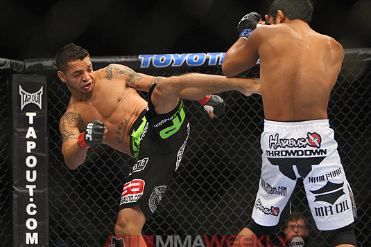 Leonard Garcia Draws Max Holloway as UFC 155 Replacement Opponent