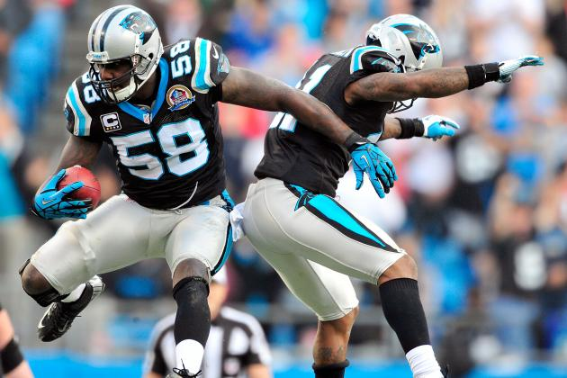 Thomas Davis a Bright Spot for Panthers