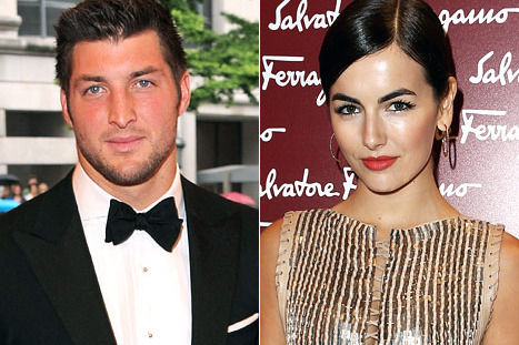 Jets' Tim Tebow and Actress Camilla Belle Reportedly Break Up