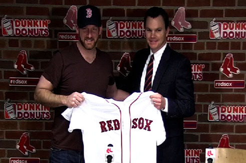 Dempster Excited to Join Red Sox's Rotation