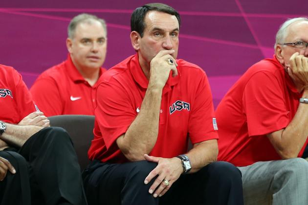 Krzyzewski Named USA Basketball Coach of the Year