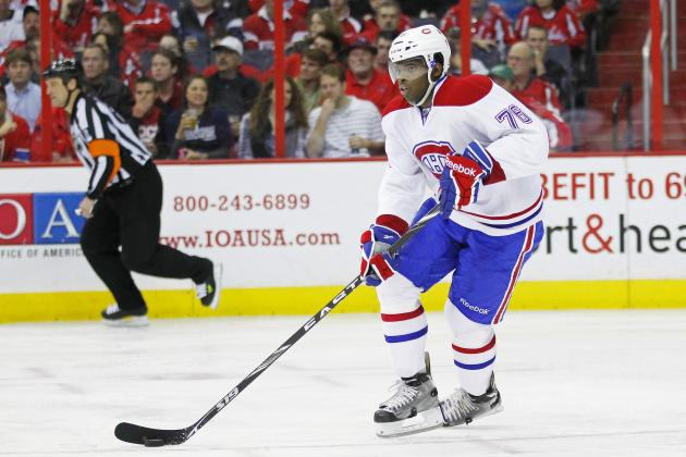 NHL Free Agency: Could the Canadiens Actually Give Up on PK Subban?