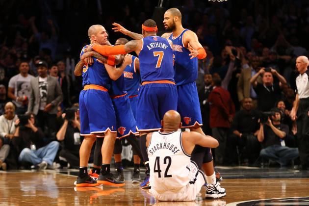 Brooklyn Nets vs. New York Knicks: Live Score, Results and Game Highlights