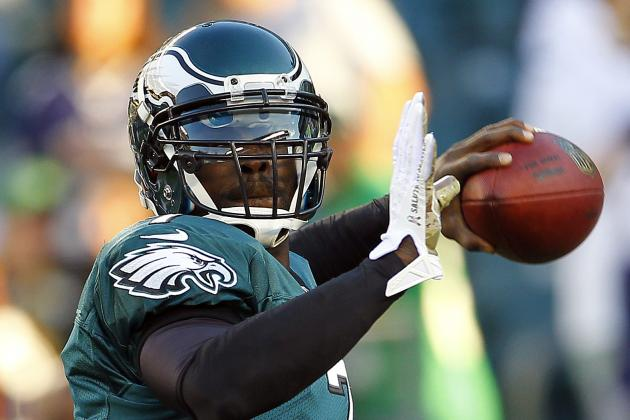 Vick Will Be Eagles' No. 3 Quarterback for Redskins Game