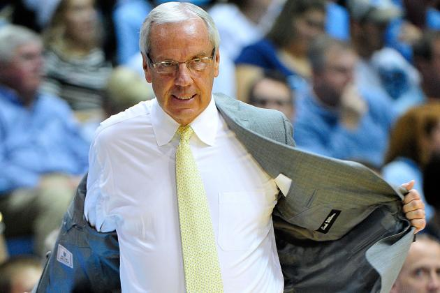 UNC Coach Roy Williams: Tar Heels Still Finding Themselves