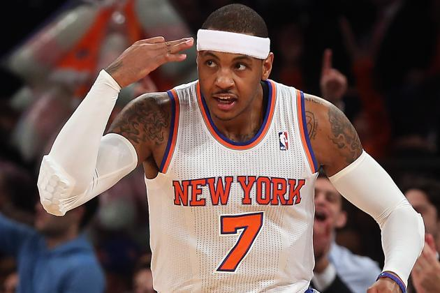 Carmelo Anthony Playing Tonight vs. Nets