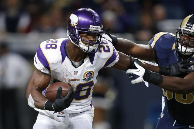 NFL MVP 2012: Adrian Peterson Should Win MVP If Vikings Make Playoffs