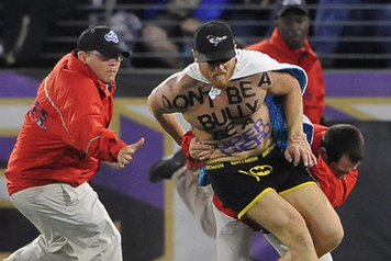 'Batman' Streaker at Orioles and Ravens Games to Be Jailed