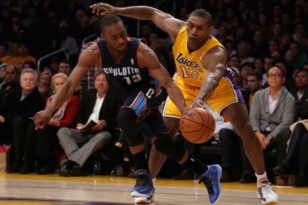 Benching Metta World Peace Only Way for Mike D'Antoni's System to Work