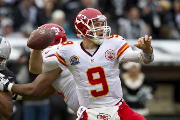 Kansas City's Brady Quinn Will Start at Quarterback Against the Colts