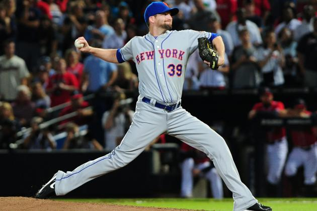 Dodgers Showing Interest in Trading for Mets Reliever Bobby Parnell