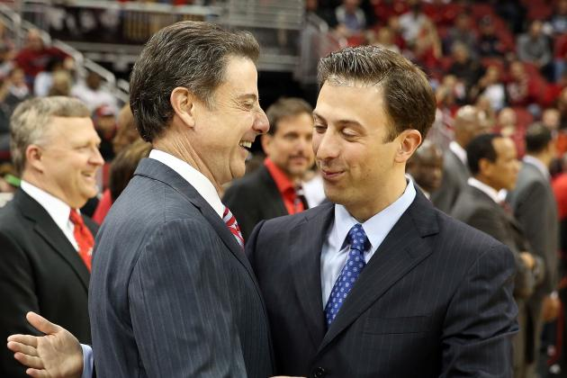 Louisville Basketball Beats FIU, 79-55, in Pitino Father-Son Matchup