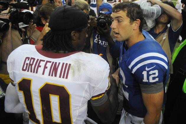 NFL Pro Bowl 2013: Andrew Luck and Robert Griffin III Deserve Nods