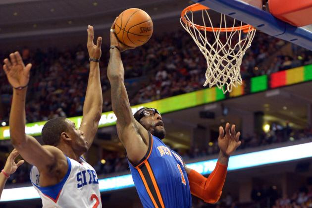 Amar'e Stoudemire: Why Star Should Come off Bench When Healthy