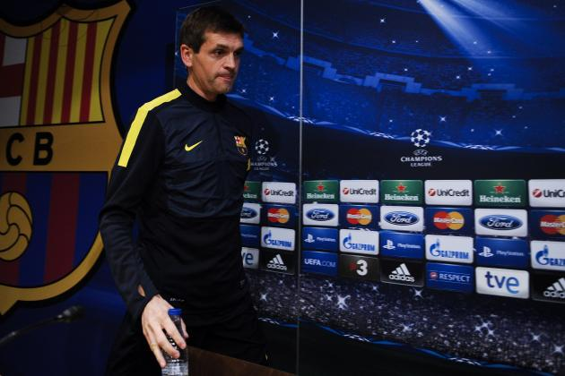 Jordi Roura: Who Is the Man Standing in for Tito Vilanova?