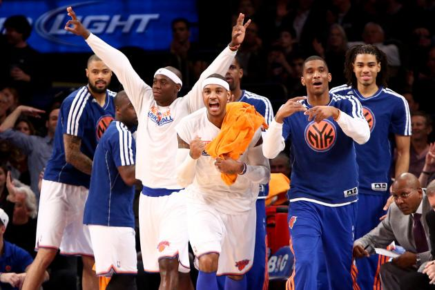 NY Knicks' Best & Worst Statistical 5-Man Units so Far This Season