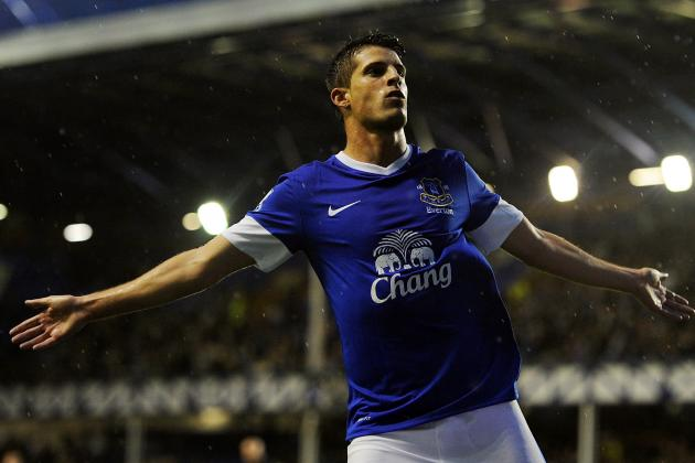 Everton FC: Assessing the Contributions of Kevin Mirallas vs. Steven Naismith