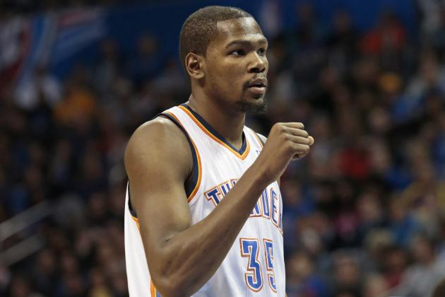NBA Tweets from Last Night: Twitter Reacts to Kevin Durant's Huge Double-Double