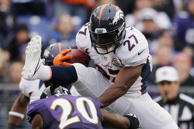 Denver Broncos' Knowshon Moreno Named AFC Offensive Player of the Week