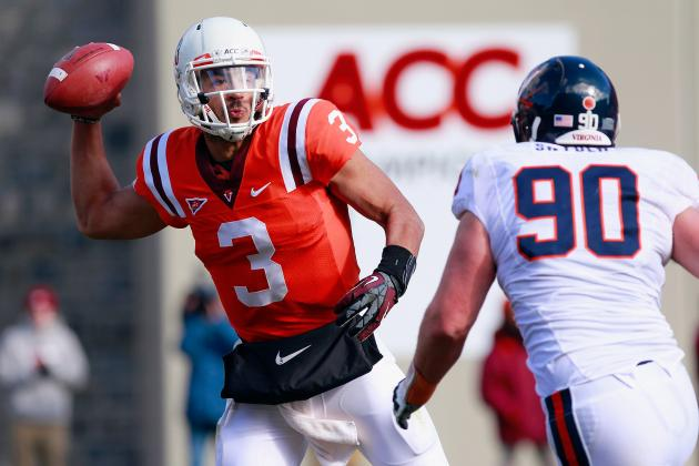 QB Guru Says Virginia Tech's Logan Thomas Remains 'a Work in Progress.'