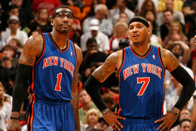 Why This Year's Carmelo Anthony-Amar'e Stoudemire Dynamic Won't Be Any Different
