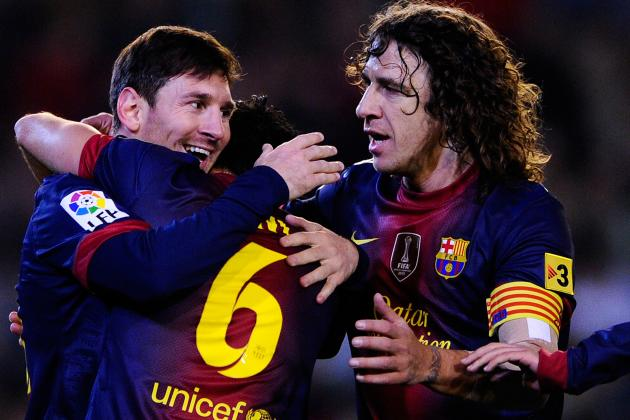 Puyol 'Happy' to Face Milan