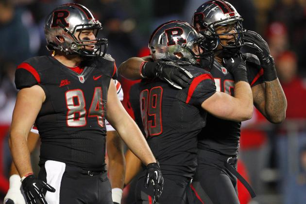 Rutgers Players Say They're Not Insulted Being an Underdog to 6-6 Virginia Tech
